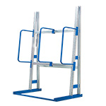 Vertical Racking with 3 Hoop Dividers