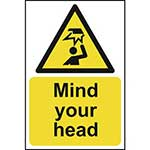 Warning Mind Your Head Sign