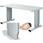WB Allen Key Height Adjustable Cantilever Bench