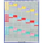 Weekly Size 3 Planner T-Card Kit 7 x 54 Slot Panels