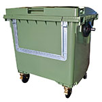 Wheeled Recycling Container with Drop Front - 660L & 1100L