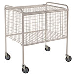 Wire Basket Trolleys 150kg Capacity