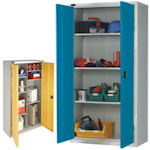 Metal general storage cupboards