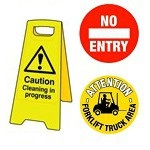 Health & Safety Signs, Fire Signs, Warning Signs, Temporary Floor Signs and Floor Markers