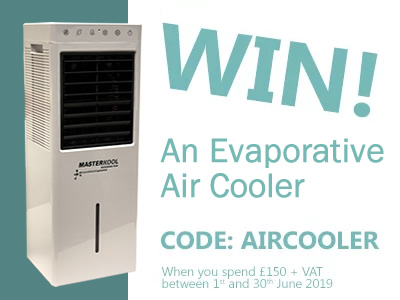 Win an Air Cooler when you spend £150 at ESE Direct with code AIRCOOLER