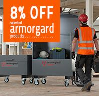 Special Offers - 8% OFF selected Armorgard products