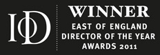 Institute of Director's East of England Director of the Year Small and Medium Business