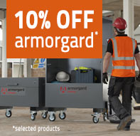 10% off selected armorgard products