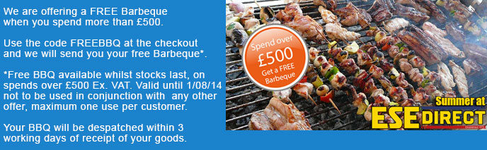 Free Barbeque Offer Banner