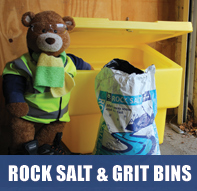 Buy Rock Salt and Grit Bins