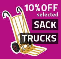 Special Offers - 10% OFF selected sacktrucks