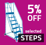 Special Offers - 5% OFF selected Steps