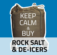 Keep Calm & Buy Rock Salt and De-icers