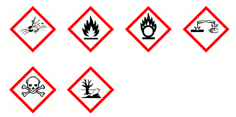 New chemical hazard labels