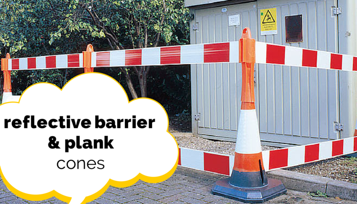 Reflective Barriers and Cones