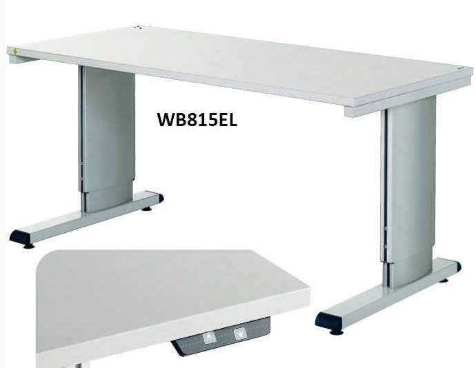 Height Adjustable Cantilever Bench