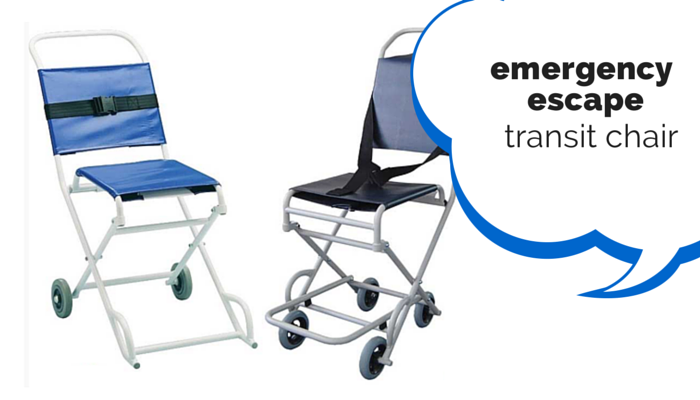 Emergency escape chairs