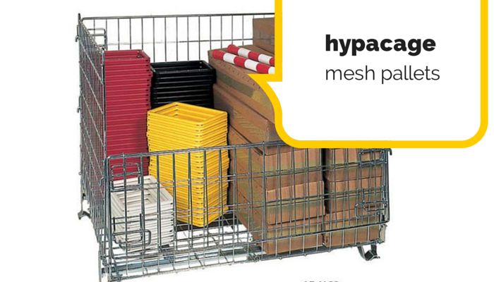 Hypacage mesh pallets