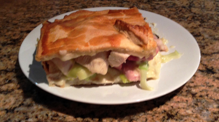 Nick Francis' chicken pie