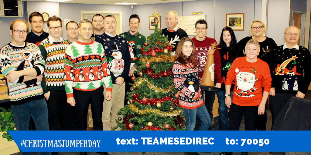 Christmas Jumper Day at ESE Direct