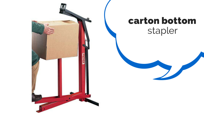 Carton Bottom Stapler