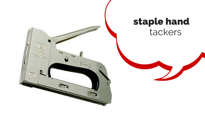 Staple Hand Tackers