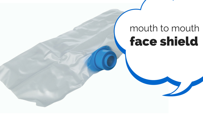 mouth to mouth face shield