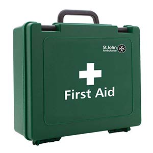 BS-8599 compliant first aid kit