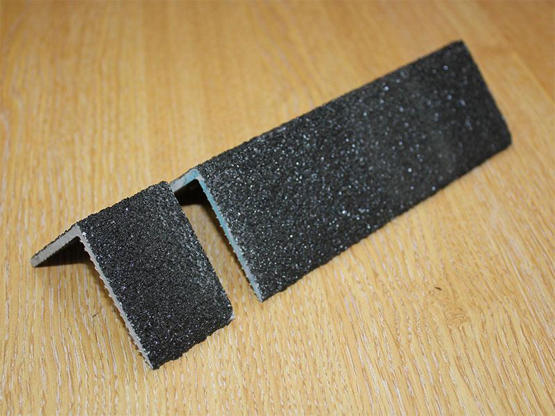 GRP fibreglass stair nosing