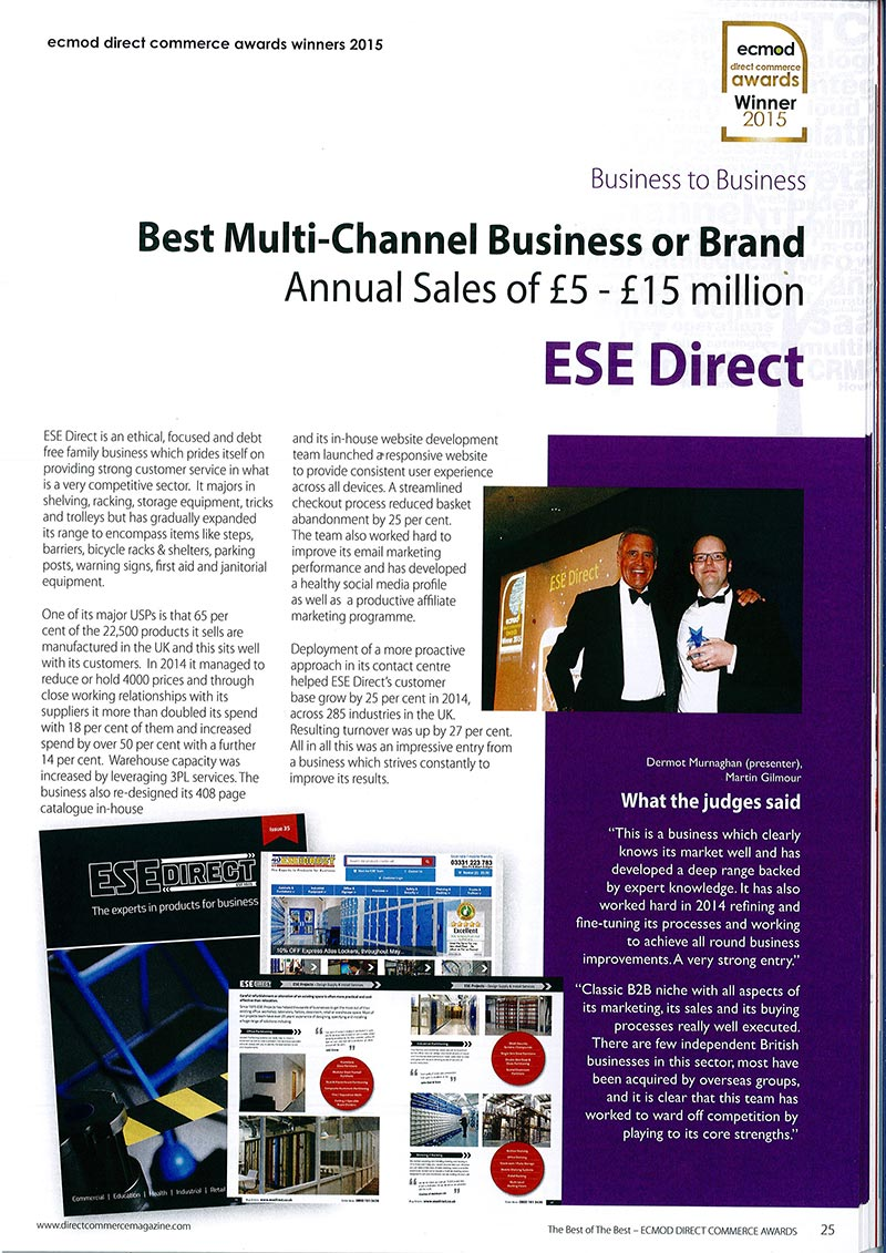 Direct Commerce Magazine, July/August 2015 issue