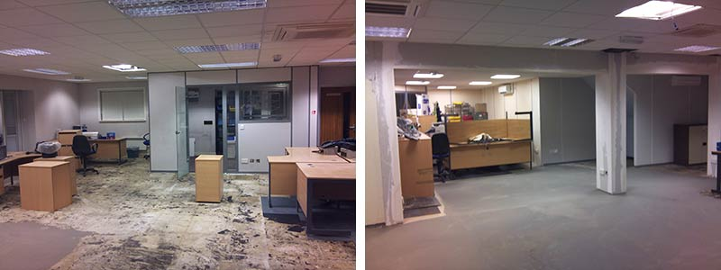 ESE office refurbishment