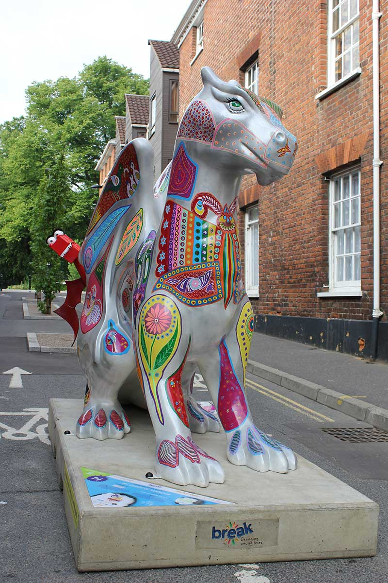 GoGoDragon - The Queen of Norwich