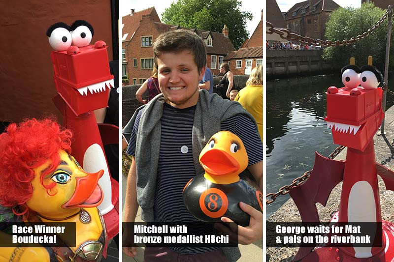 Grand Norwich Duck Race 2016