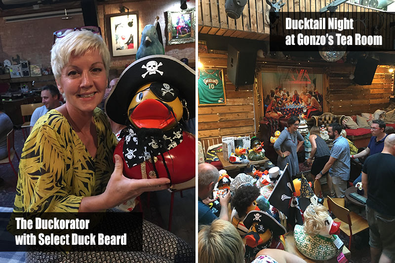 The Duckorator with Select Duck Beard and Ducktails at Gonzo's