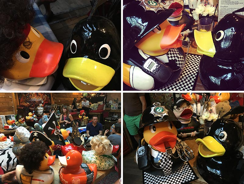 Ducktail Party at Gonzo's Tea Room