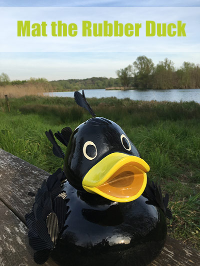 Mat the Rubber Duck