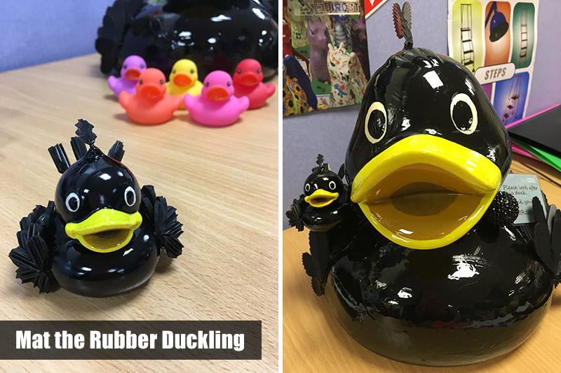 Mat the Rubber Duckling