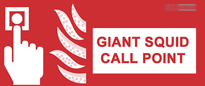 Giant Squid Call Point