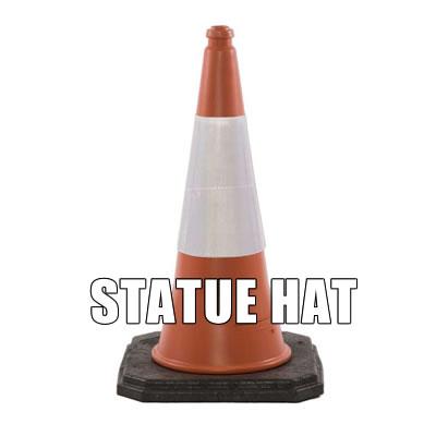 Statue Hat