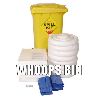 whoops bin