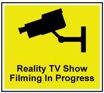Reality TV Show Filming In Progress