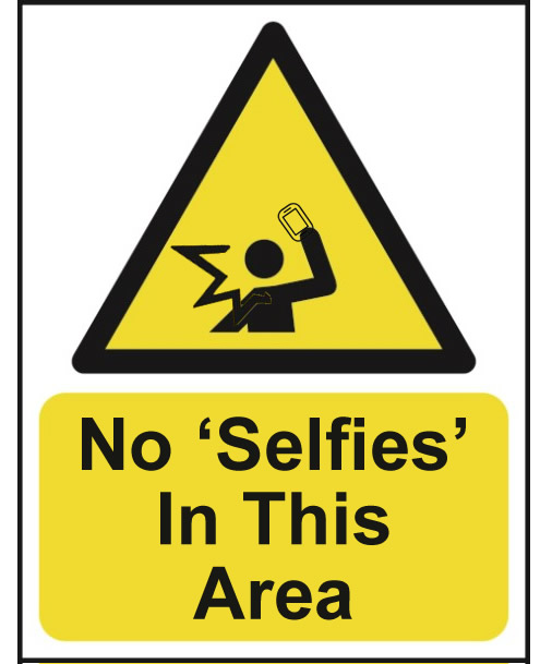 No Selfies In This Area