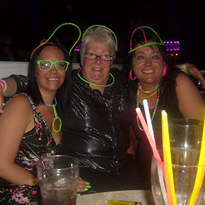 Cindy goes back to the 80's on a night out at Butlins!