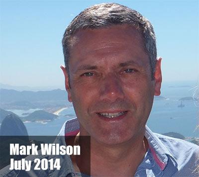 Mark Wilson in 2014