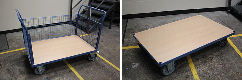 platform truck without mat
