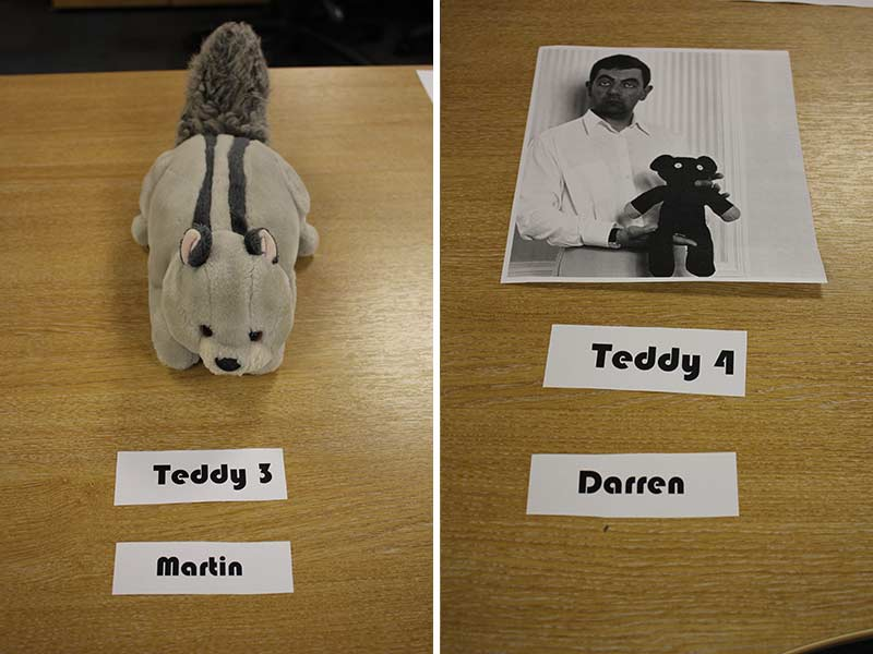Teddys 3 and 4