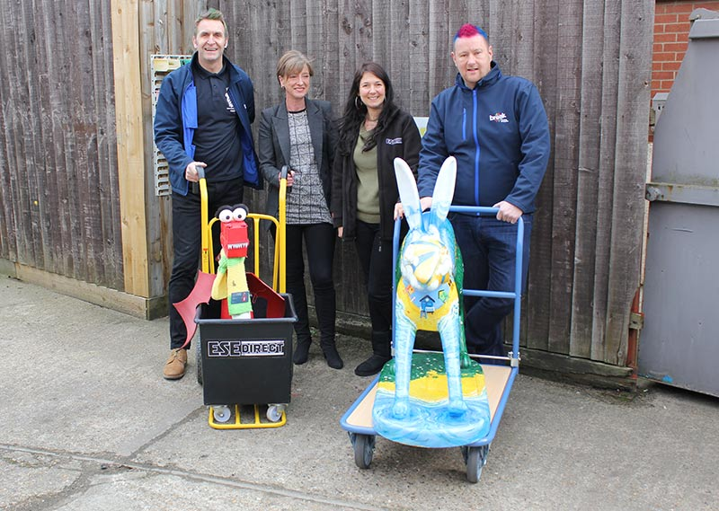 ESE Direct donates trolleys to Break Charity GoGo Hares project