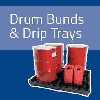 Drum Bunds and Drip Trays