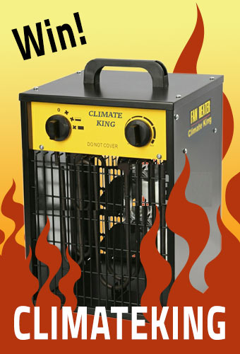 Win a Climate King 3kw Box Heater