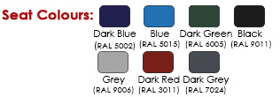 Drayton Outdoor Seat Standard RAL Colours